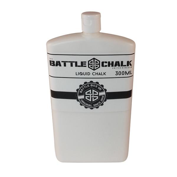 BATTLECHALK 300ml Liquid Chalk For Rock Climbing Gymnastics Gym Pole Dancing WeightLifting - www.BattleBoxUk.com