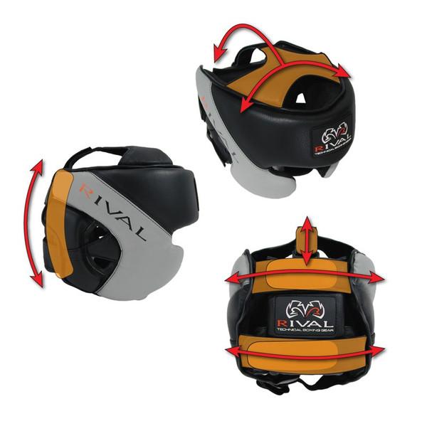 CrossTrainingUK - Rival Boxing RHG PRO BK/RD Boxing Headgear