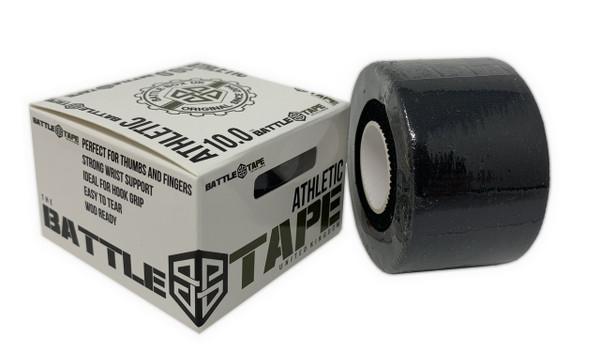 BattleTape™ | Athletic Tape | Solid Black www.battleboxuk.com