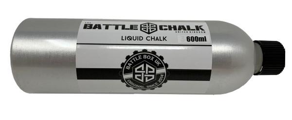 BATTLECHALK™ | 600ml Liquid Chalk Aluminium Bottle For Rock Climbing Gymnastics Gym Pole Dancing WeightLifting - www.BattleBoxUk.com