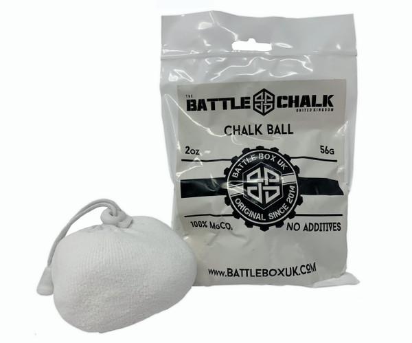 BATTLECHALK™ | Chalk Ball | 56G | For Rock Climbing Gymnastics Gym WeightLifting - www.BattleBoxUk.com