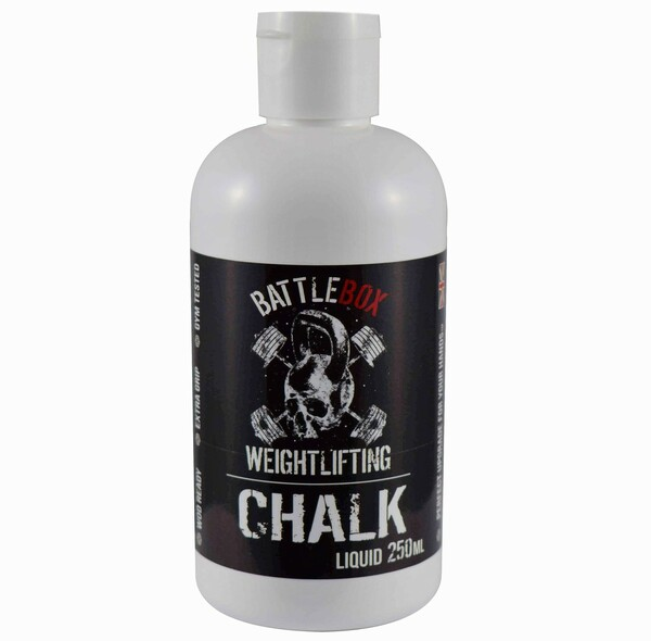 BATTLEBOX WEIGHTLIFTING™   250ml Premium Liquid Chalk For Rock Climbing Gymnastics Gym Pole Dancing WeightLifting - www.BattleBoxUk.com
