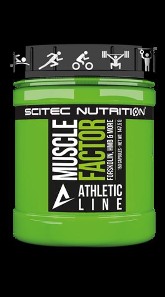 SCITEC ATHLETIC LINE | ATHLETIC LINE MUSCLE FACTOR  www.battleboxuk.com