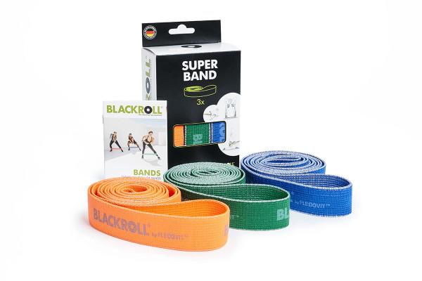 BLACKROLL® SUPER BAND   soft elastic   tear-resistant   fiberand rubber www.battleboxuk.com
