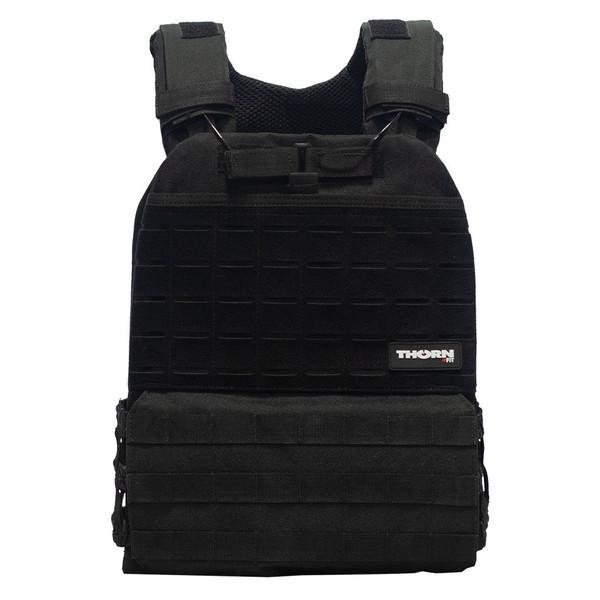 THORN+FIT | TACTICAL Weighted Training Vest Black | Various Packs 9.3kg 6.5kg 4.7kg WOD Fitness  - www.BattleBoxUk.com