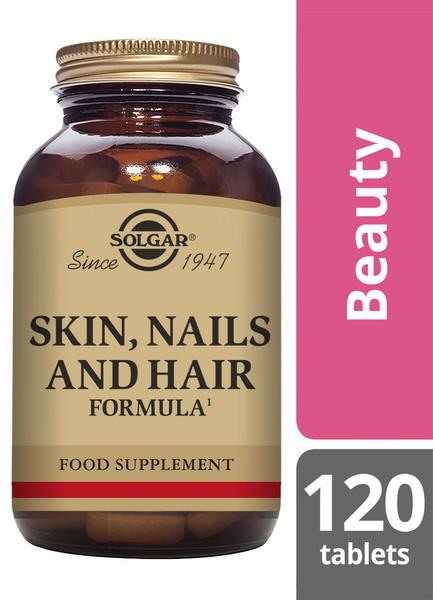 Solgar® | Skin, Nails and Hair Formula Tablets-Pack of 120 (E1736) www.battleboxuk.com
