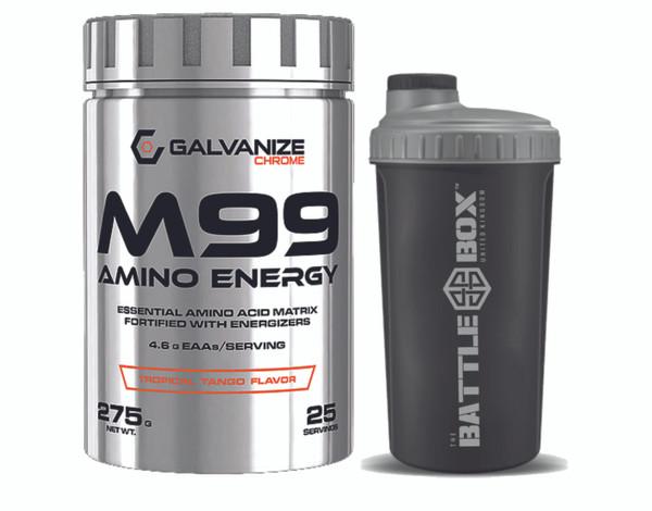 GALVANIZE | M99 | ESSENTIAL AMINO ACID MATRIX FORTIFIED WITH ENERGIZERS WWW.BATTLEBOXUK.COM