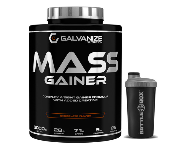 GALVANIZE | MAX GAINER 3000 | FORMULA WITH ADDED CREATIN