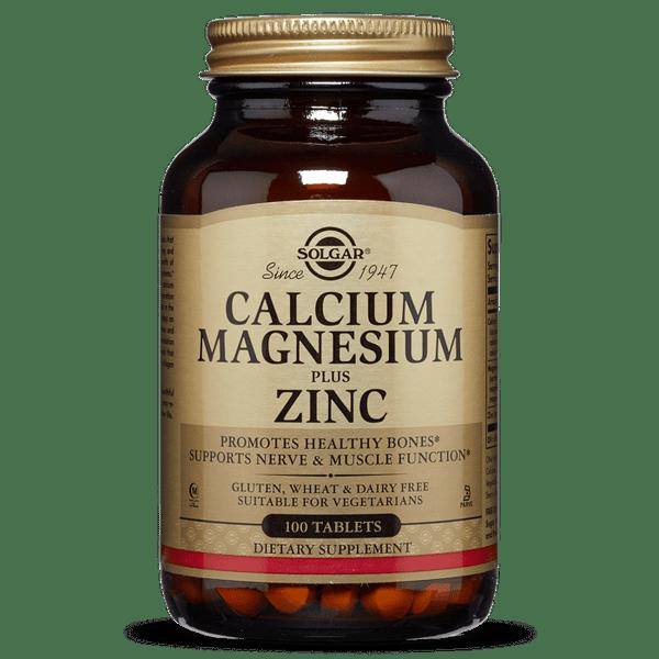 Solgar   Calcium Magnesium Plus Zinc Tablets   Pack of 100 (E520) - www.Battleboxuk.com