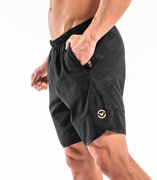 VIRUS | ST8 | ORIGIN 2 SHORTS - LIMITED EDITION BLACKCAMO GOLD WWW.BATTLEBOXUK.COM