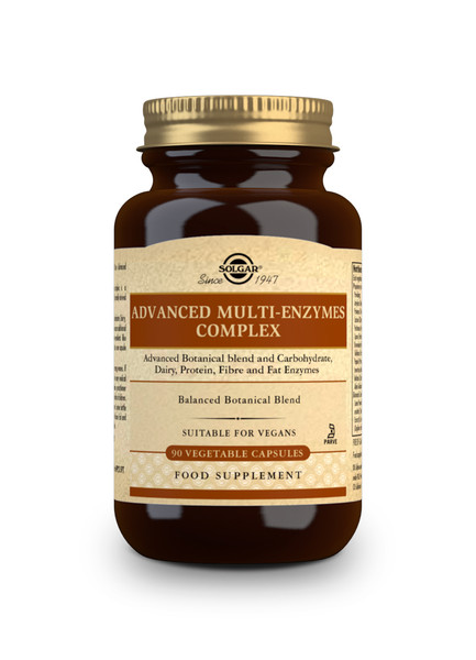 Solgar | Advanced Multi-Enzymes Complex (Botanical Blend) - 90 Caps