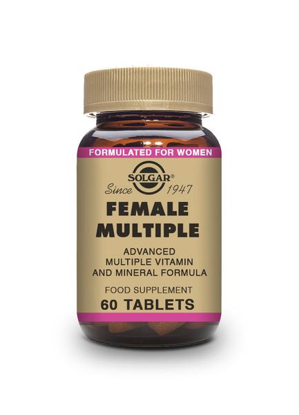 Solgar | Female Multiple Tablets | Pack of 120 - www.BattleBoxUk.com