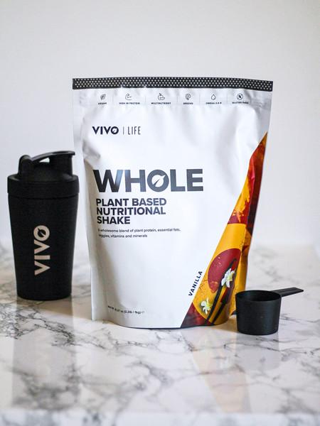 VIVO LIFE | WHOLE | Plant Based Nutritional Shake | 1KG 25 SERVINGS  www.battleboxuk.com