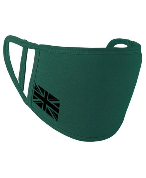 Union Jack Washable 2-Ply Face Cover Mask Silvadur™ 930 Anti-Microbial Finish  - www.BattleBoxUk.com