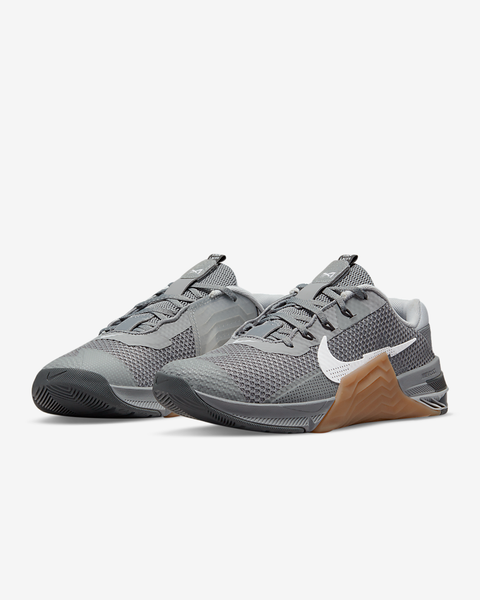 Nike Metcon 7 Training Shoe Particle Grey/Gum Medium Brown/Dark Smoke Grey/White (CZ8281-011) www.BattleBoxUk.com