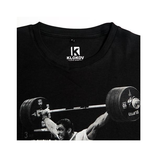 KLOKOV SNATCH T-SHIRT BLACK AND WHITE