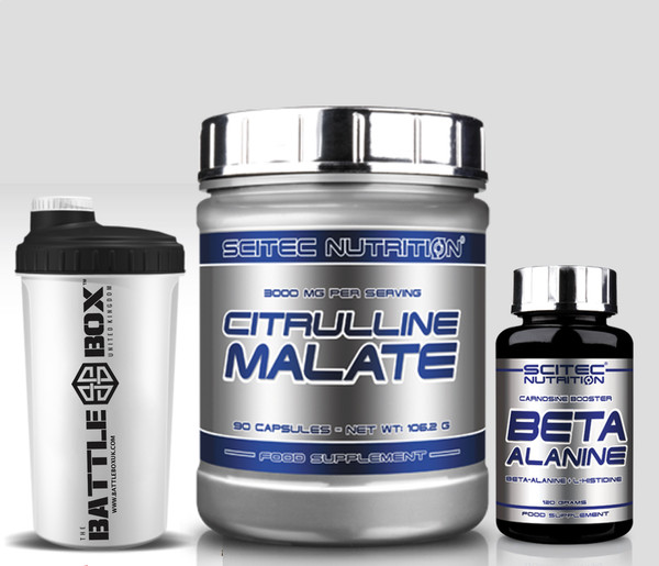 BETA ALANINE Carnosine booster CITRULLINE MALATE Crossfit Pack Progenix Lactic Booster