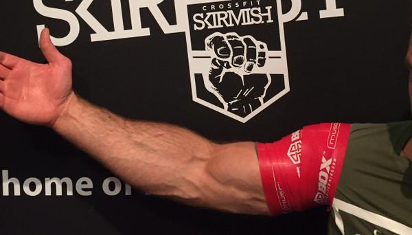 BattleBoxUk.com - Muscle Floss Heavy Red