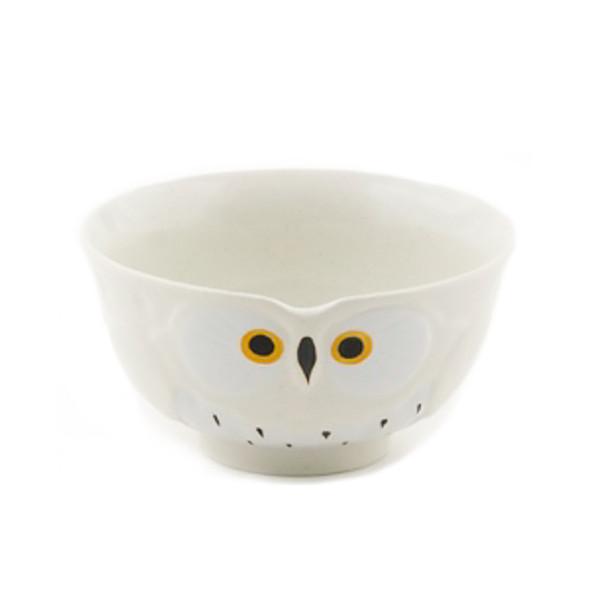 "Stony Owl Bowl 5-1/2""D - Set of 2, White"
