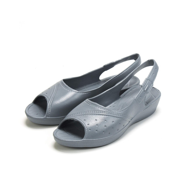 Foam Comfort Slingback Sandals Women's EVA Croc - Grey