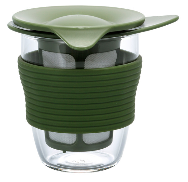 Hario Handy Tea Maker 200ml, Olive Green