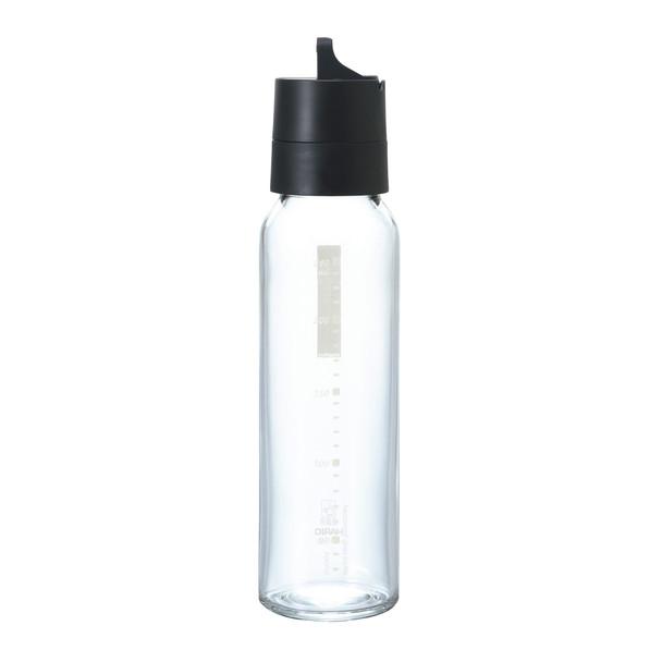 HARIO Salad Dressing Bottle 240ml, Black
