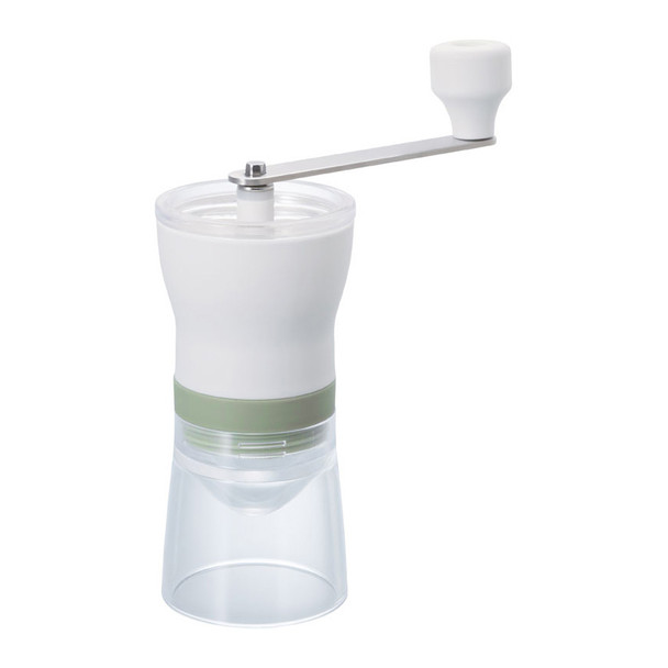 Hario 'Chaco' Tea Grinder with Mesh Sifter, White
