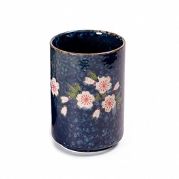 Blue Sakura Teacup 10 oz