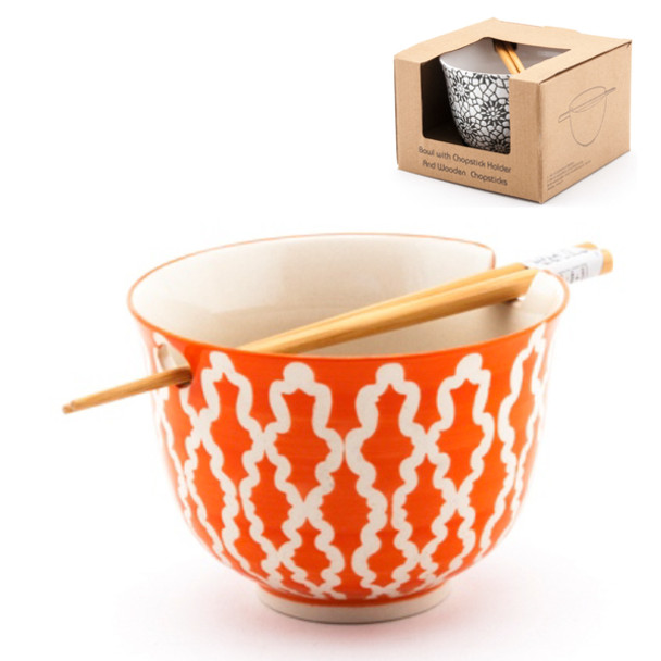 Orange Bowl w/ Chopstick