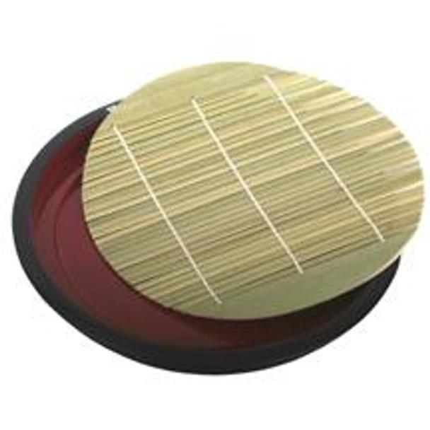 Round Bamboo Soba Tray