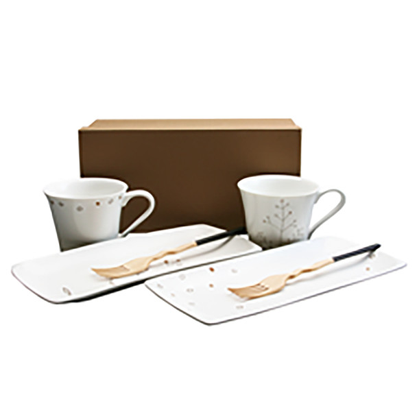 shirley Mug & Plate Set, serving for 2