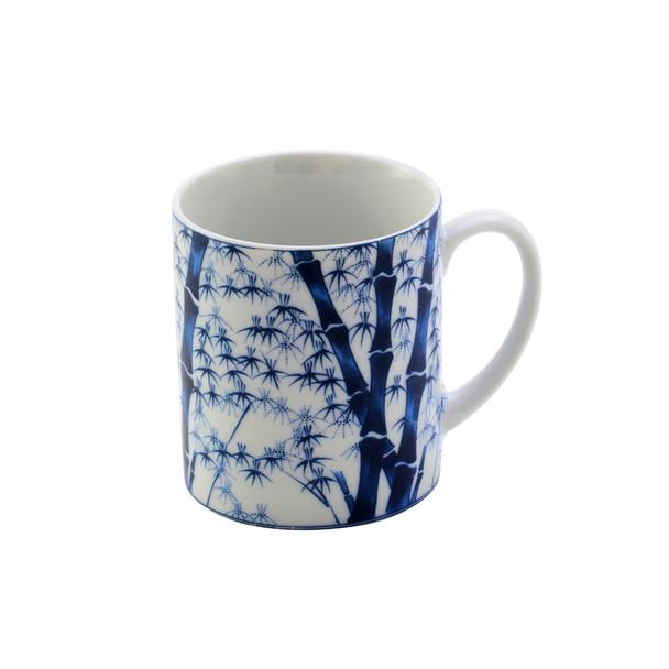 Blue Bamboo Mug  8oz