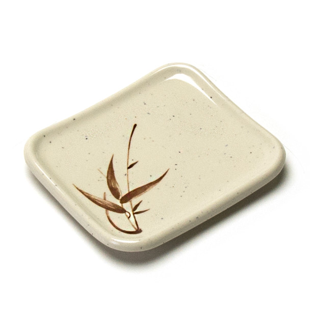 "Melamine Rectangle Side Dish, 12pc, 5-1/2""x4"" (Autumn Grass)"