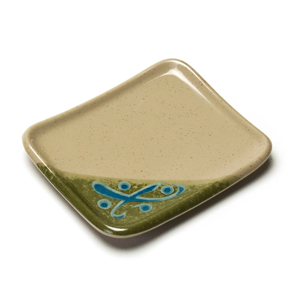 "Melamine Rectangle Side Dish, 12pc, 5-1/2""x4"" (Green)"