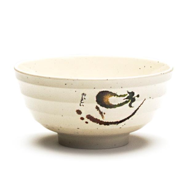 "Melamine Udon Bowl, 6pc, 7""D (Eggplant)"