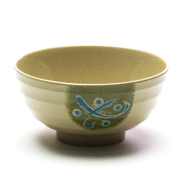 "Melamine Udon Bowl, 6pc, 7""D (Green)"