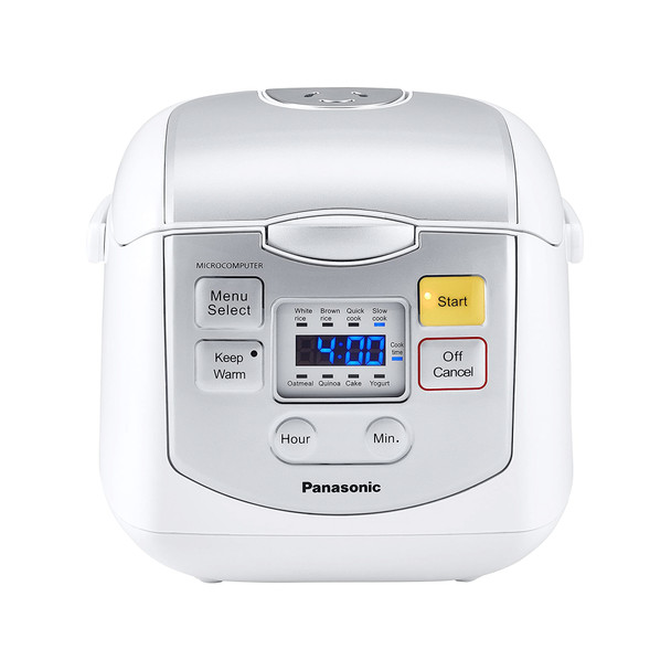 Panasonic 4-Cup Microcomputer Rice Cooker SR-ZC075W
