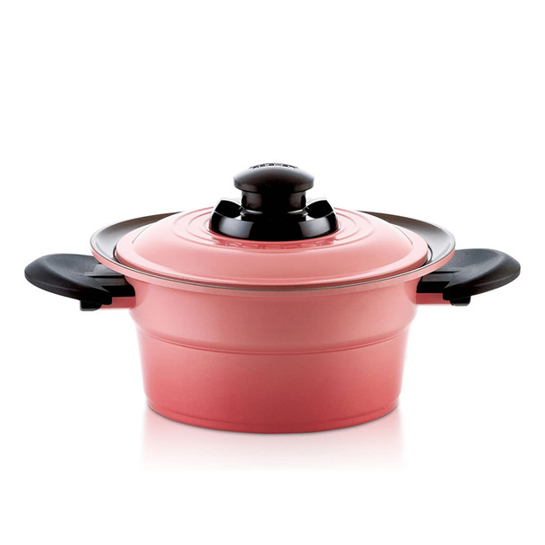 Roichen Pot Violet Pink Cooking Pot Multipurpose