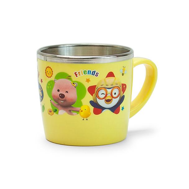 Pororo Stainless Steel Non-Slip Kids Mug