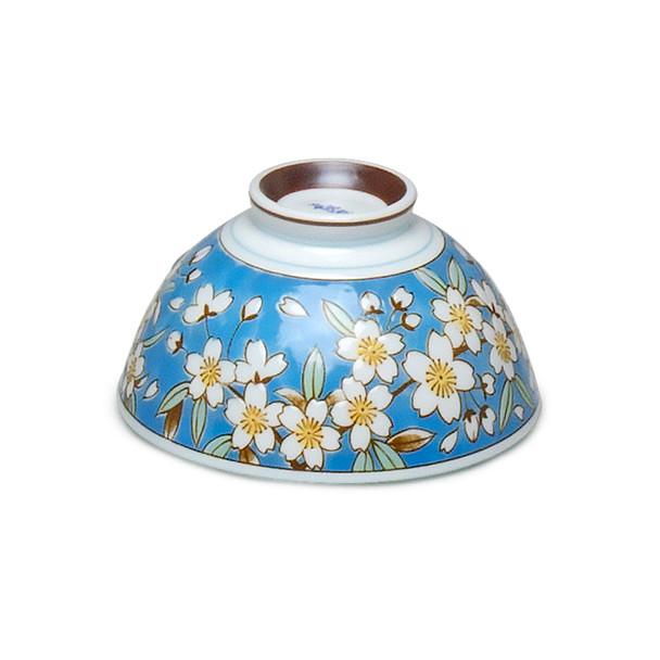 Haru White Cherry Blossom Bowl - Blue