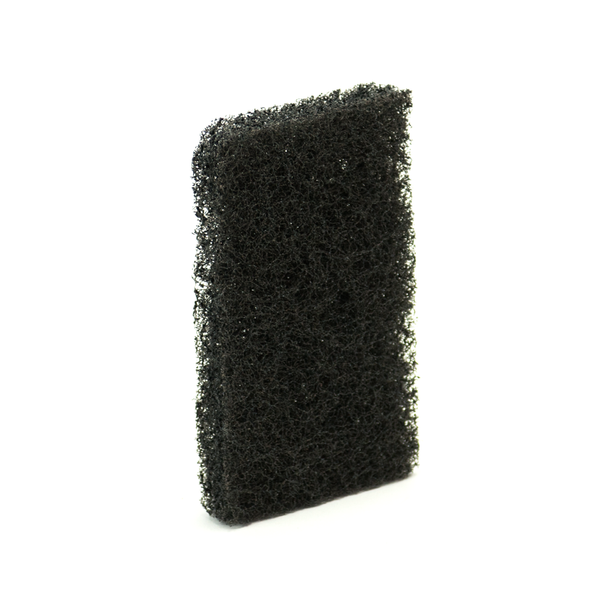Black Kitchen Sponge for Cleaning Cookware and Gas Stove Top - 5pc