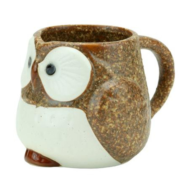 Stony Owl Mug (Brown)