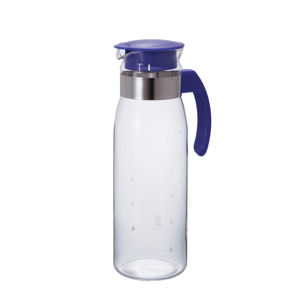 Hario Glass Pitcher - Royal Blue 1400ml (47oz)
