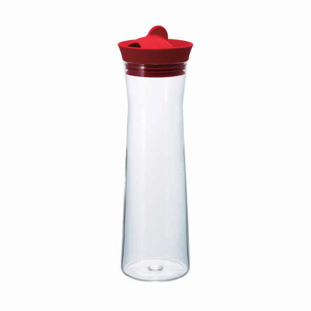 Hario Water Jug - Red 1000ml (34oz)