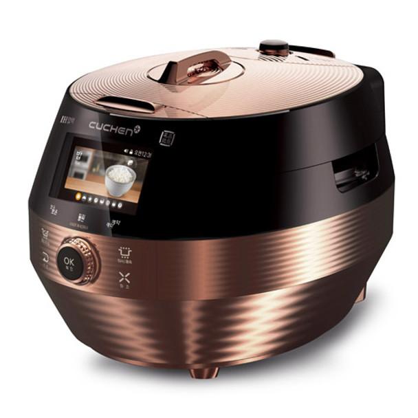 Cuchen IH Pressure Rice Cooker 10cup - Black/Rose Gold