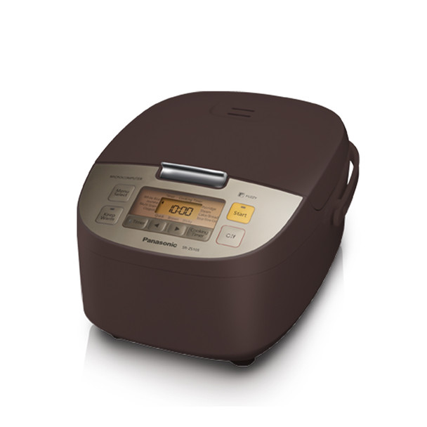 Panasonic Microcomputer Controlled Fuzzy Logic Rice Cooker (5 cup) - Brown