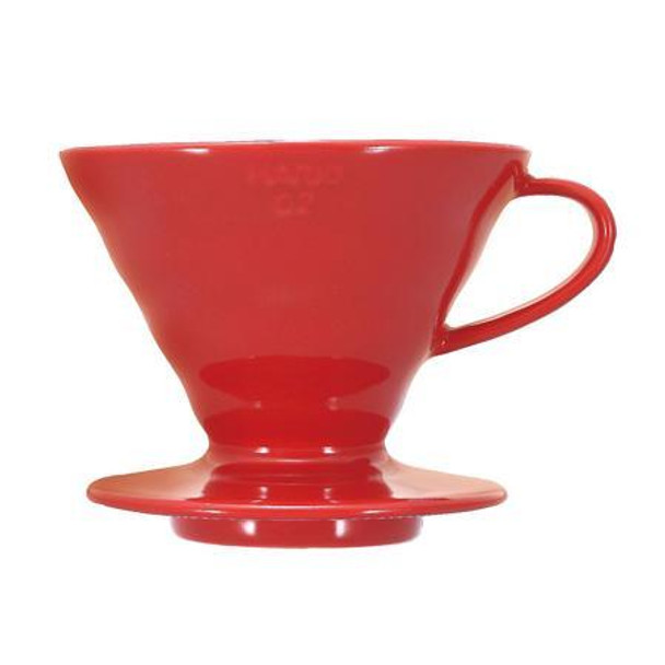 Hario V60 Ceramic Coffee Drippers (Red)