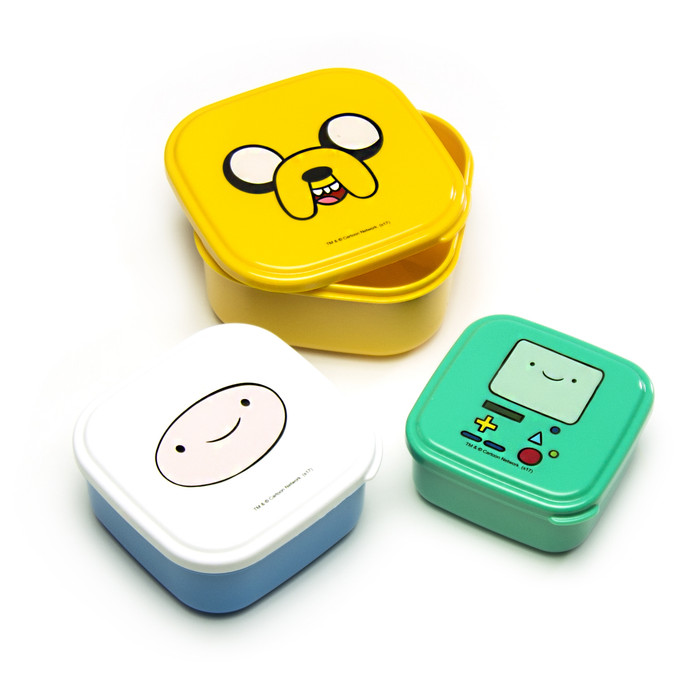 Adventure Time Lunch Box 3pc Set