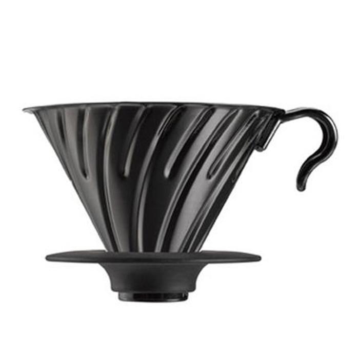 Hario V60 Metal Coffee Dripper 02 Black