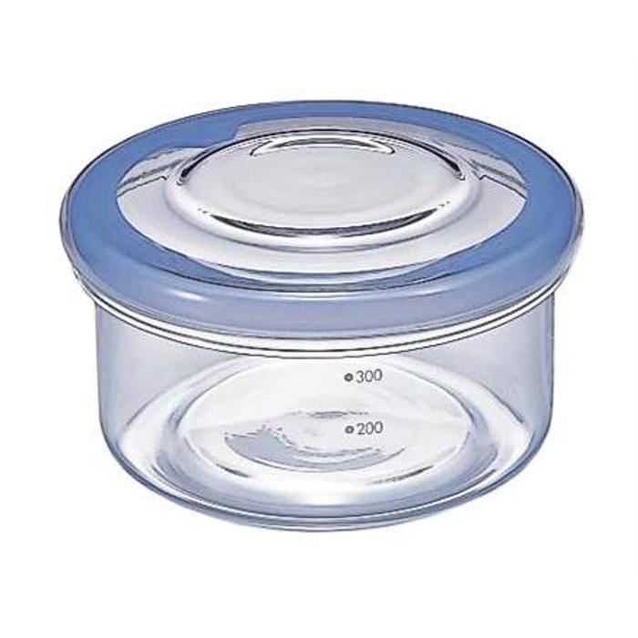 Hario Glass Container (17oz) Blue